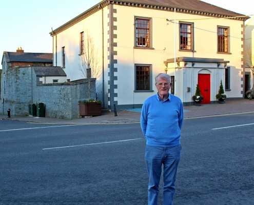 Peadar Reynolds, Outside Bailieborough Courthouse - News